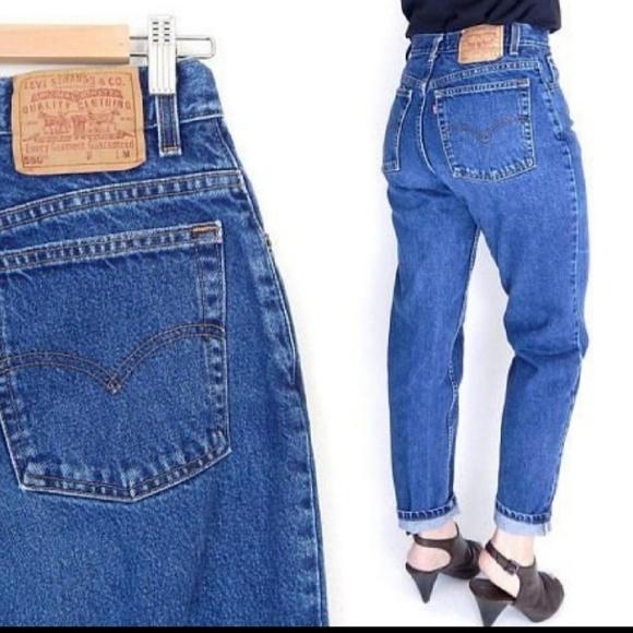 a6a07fd5f5a75d Levi's Jeans | Levis 80 90 Vintage High Waist Mom Sz 10 | Poshmark